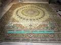 供应中美谈判室专用手工波斯地毯