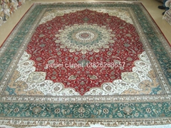 in Guangzhou the wholesale carpet Kingdom which Latvia handicraft carpet
