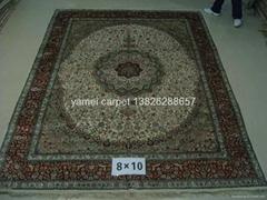 世界地毯-手工波斯地毯 8X10 ft 藝朮地毯 真絲地毯 (熱門產品 - 1*)