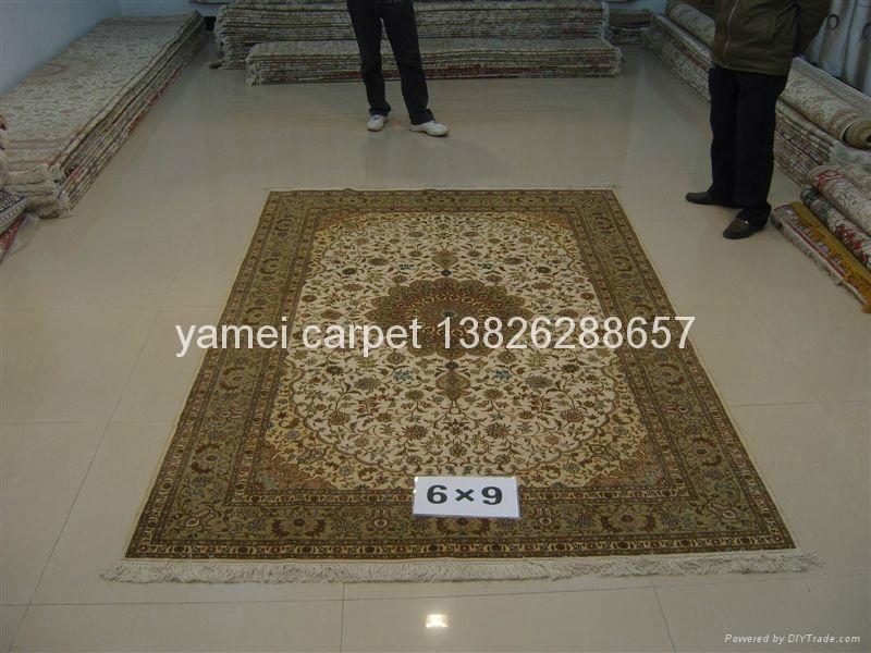 生产手工波斯地毯特级 6X9ft,波斯图案 批发与零售 3