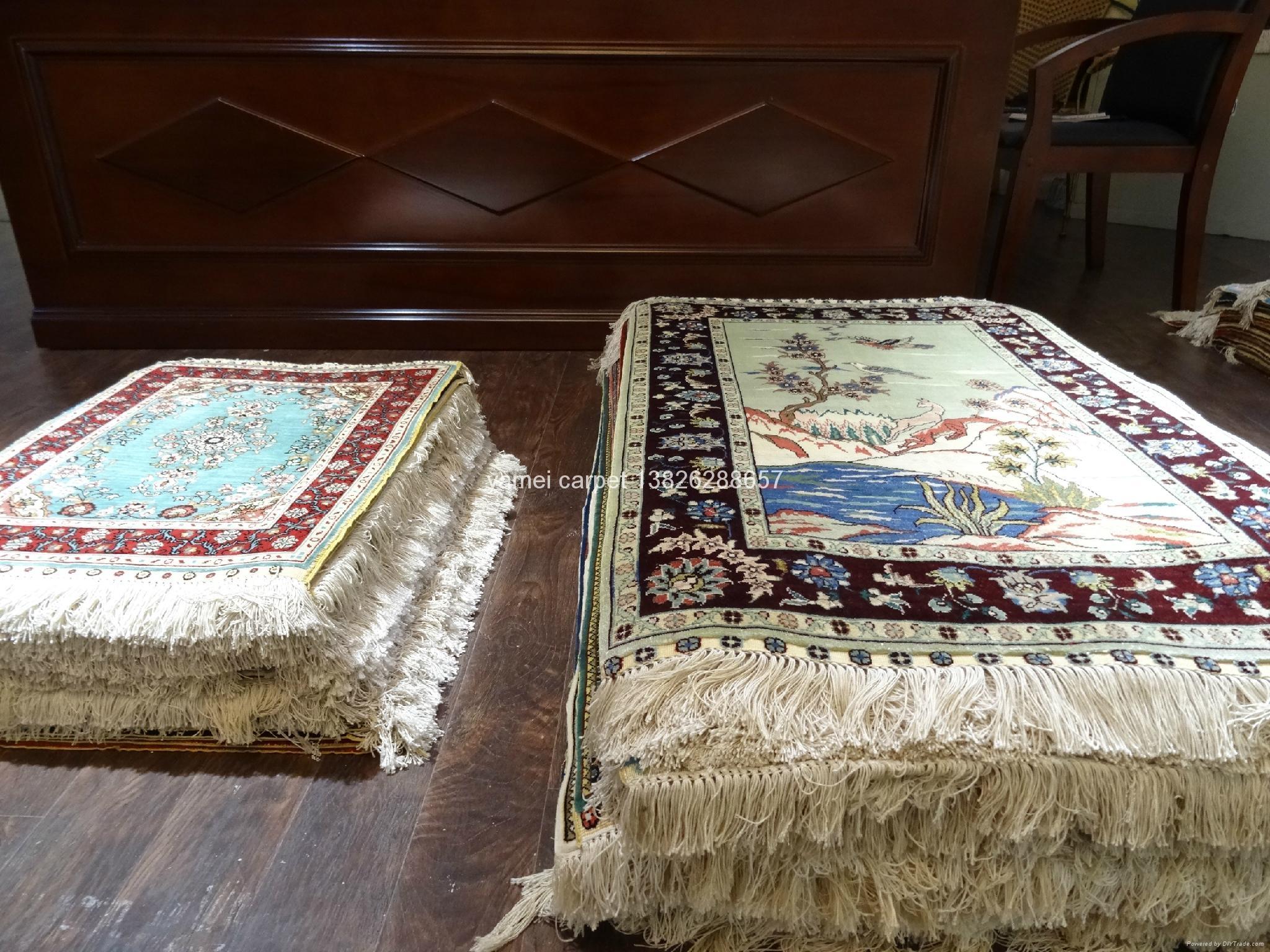 波斯富贵供应手工真艺术挂毯 波斯地毯  2