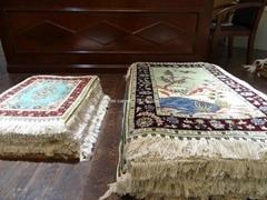 供應手工真絲挂毯 藝朮挂毯 以色列地毯 波斯地毯