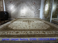classic design of the same quality as Mercedes Benz,Persian silk carpet