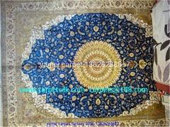 销往安哥拉,安提瓜和巴布达艺术地毯  斯富贵真丝地毯