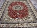 水洗波斯地毯 以色列蠶絲挂毯/