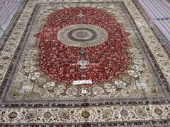 蚕丝挂毯/地毯 优惠爱尔兰地毯 水洗真丝波斯地毯