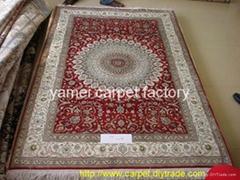 129屆廣交會供應波斯地毯 天然植物染色真愛系列手工地毯
