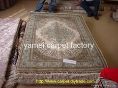 廣交會地毯 天然 植物 古董毯子 金絲地毯和藝朮挂毯