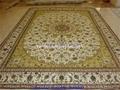 手工波斯地毯/挂毯305x246cm 波斯富贵优惠德国真丝地毯 2