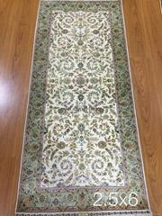 Wholesale corridor carpet, Persian carpet, silk carpet, hand woven