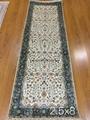 广州亚美批发手工走廊地毯 波斯地毯 真丝地毯 2