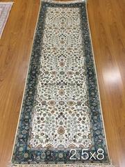 Guangzhou Yamei wholesale manual corridor carpet Persian carpet silk carpet