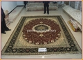 批发客厅专用手工真金丝地毯和挂