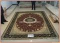 批發客廳專用手工真金絲地毯和挂