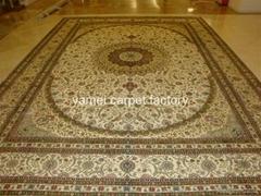 廠價手工天然絲地毯 305x428cm 絲綢波斯地毯