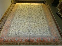 讓世界愛上亞美地毯 優惠供應波斯真絲地毯 6x9 ft