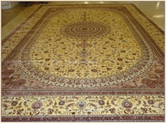 爱沙尼亚 Estonia 手工真丝地毯 天然蚕丝波斯地毯