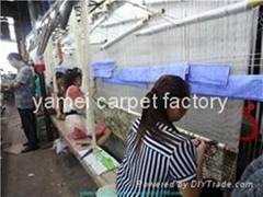 大量供应 silk carpet 手工真丝地毯 天然蚕丝地毯 波斯地毯