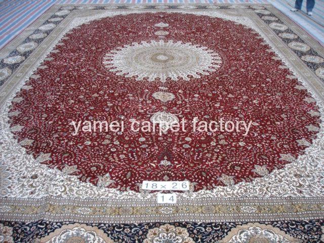 中国好的天然蚕丝地毯厂- 广州仓库13826288657 1