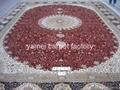 中國好的手工天然蠶絲地毯廠-