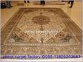 供应手工波斯地毯,供中美谈判室