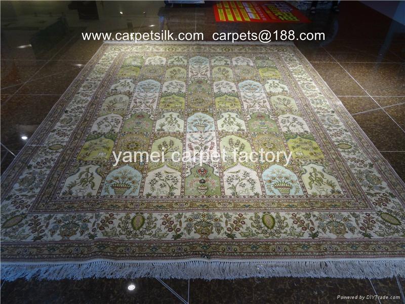 亞美地毯世界    的藝朮挂毯 蠶絲地毯 手工地毯 1