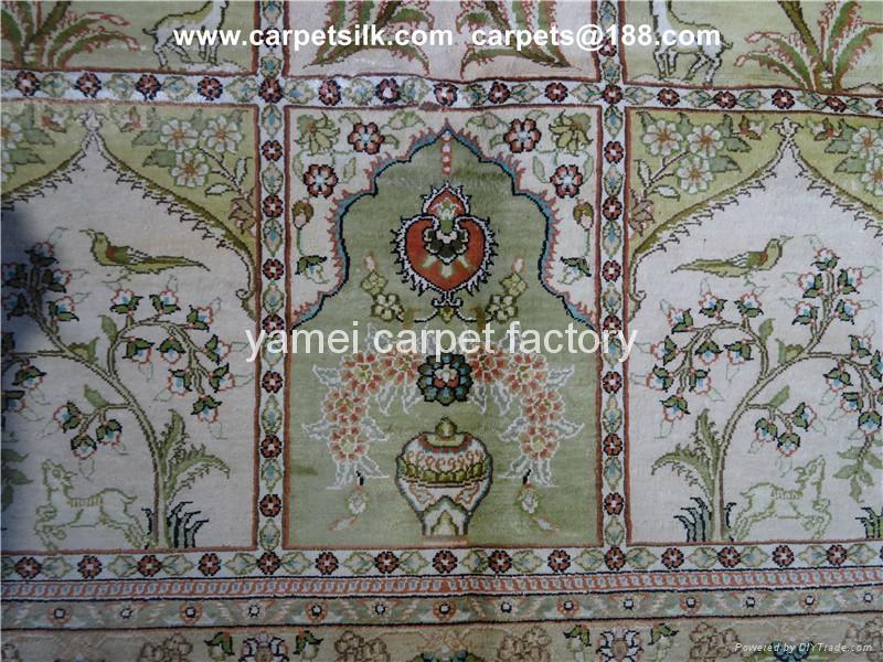 亞美地毯世界    的藝朮挂毯 蠶絲地毯 手工地毯 4