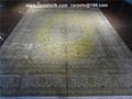 创造历史 ! 亚美汇美首次特供桑蚕丝手工艺术地毯 11x8ft 英尺  1