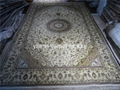 古典圖案 亞美地毯 手工真絲地