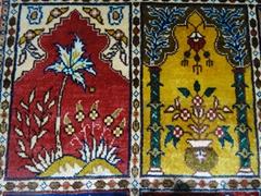 The same quality as Mercedes-Benz Persian silk carpet