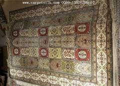 批发供应伊朗地毯 伊斯法罕地毯 6X9FT 丝绸地毯