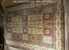 Supply silk carpets iran