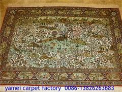 优质产品-亚美批发真丝挂毯 艺术挂毯 波斯挂毯