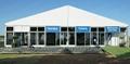 安装大跨度航空铝合金帐篷并提供家具/地毯/空调/照明 6
