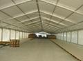 安裝大跨度航空鋁合金帳篷並提供傢具/地毯/空調/照明 4