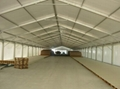 Installation of large-span aviation aluminum tents and provision of furniture 4