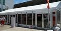 安裝大跨度航空鋁合金帳篷並提供傢具/地毯/空調/照明 5