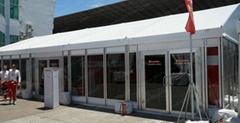 訂製大跨度航空鋁合金帳篷/傢具/地板/空調/照明/地毯