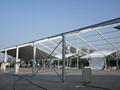 安装大跨度航空铝合金帐篷并提供家具/地毯/空调/照明 1