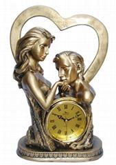 小天使艺术装饰钟 工艺饰品-亚美制造