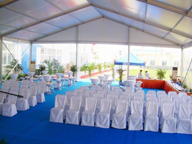 生产大型弧顶篷房 弯柱篷房 多边形篷房 4