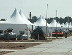 供应弯柱篷房 派对帐篷 尖顶篷房