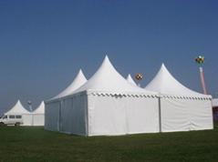 供应弯柱篷房 仓储篷房 尖顶篷房 派对帐篷