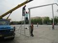 生产大型弧顶篷房 弯柱篷房 多边形篷房 3