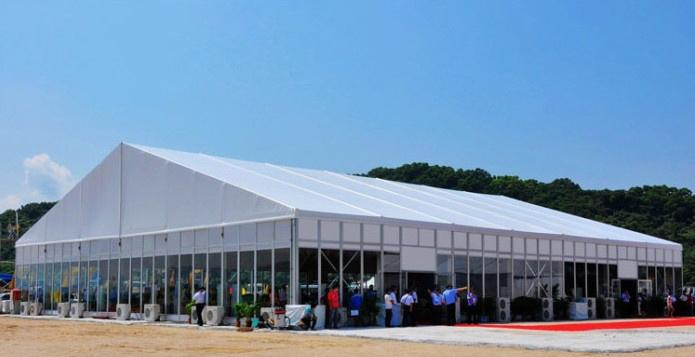 With the Mercedes-Benz, iPhone -The same quality Exhibition Tent Business Tent 1