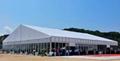 与奔驰,苹果一样品质的展览帐篷 组合篷房 商务帐篷 1