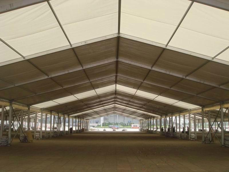 与奔驰,苹果一样品质的展览帐篷 商务帐篷 组合篷房 2