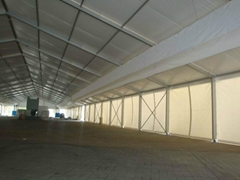 Supply large industrial tent, business tent, exhibition tent