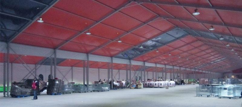 中国好的大型医院专用篷房 Party Tent 工业仓储帐篷 2