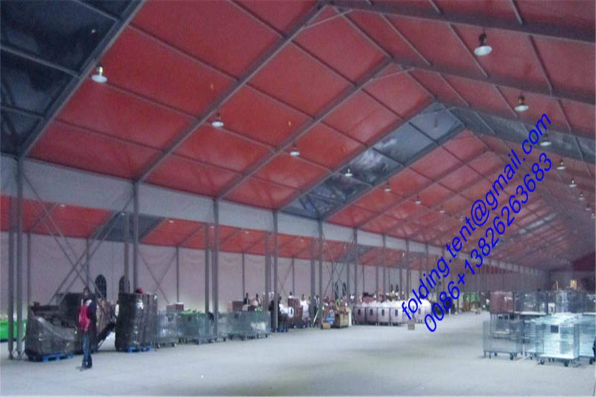高棈密工业帐篷 80x500m 精密的仓储篷房  3